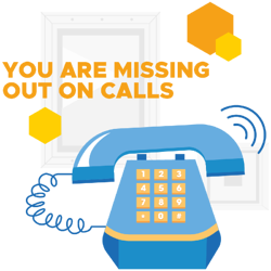 You are missing out on calls